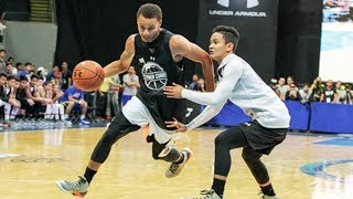 Stephen Curry BREAKS ANKLES in Philippines during 2015 Under Armour event