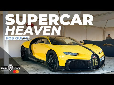 Supercar paddock walkaround with Smith & Sniff | Festival of Speed 2021