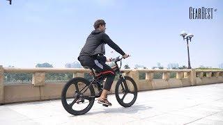 Samebike LO26 Electric Bike Smart Folding Bike E - bike - GearBest.com