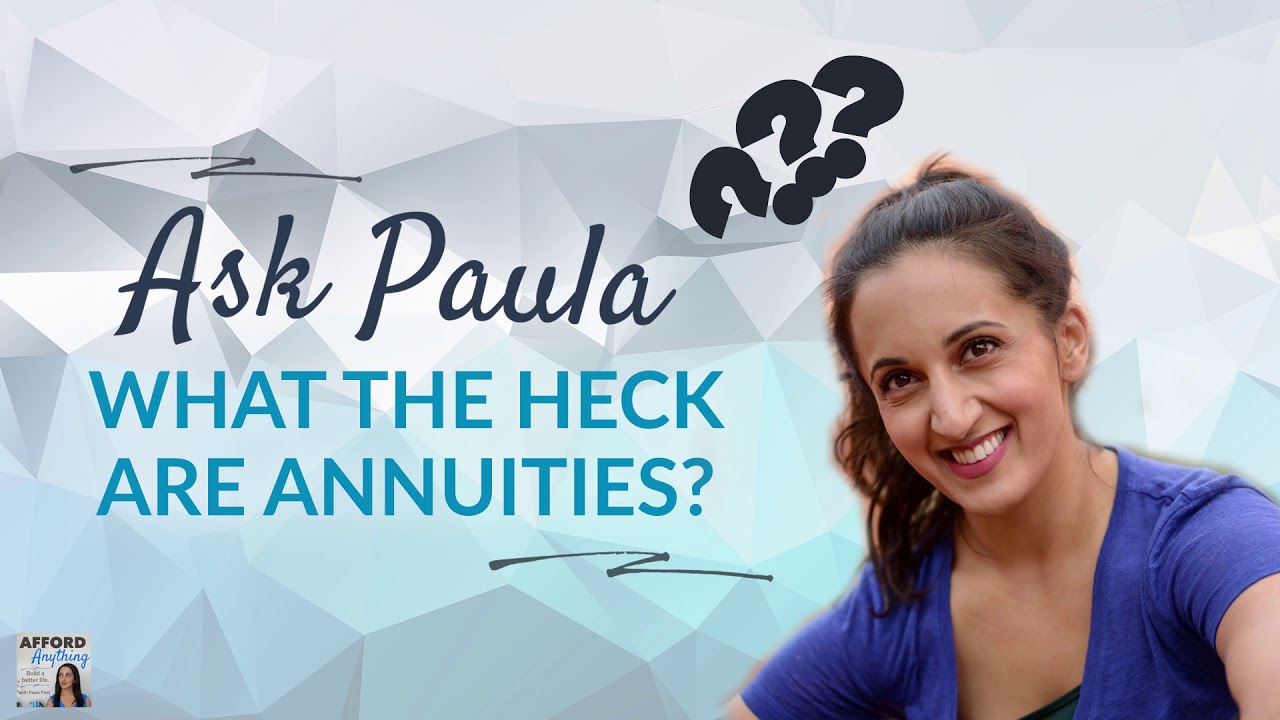 What the HECK are annuities? | Afford Anything Podcast (Audio-Only)