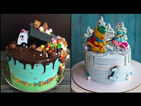 40+ Birthday Cake Ideas For Baby Boys | Kids Birthday Cakes