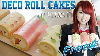 Cute Deco Roll Cake ft. Kim Dao - Kao