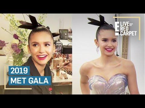 Nina Dobrev Gets Met Gala Ready With Charlotte Tilbury & Zac Posen | E! Red Carpet & Award Shows