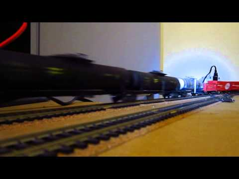 Trenes escala Ho de USA, Suiza y Chile.
