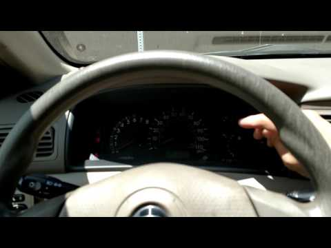 How to reset a maintenance light on a 2004 Toyota Corolla
