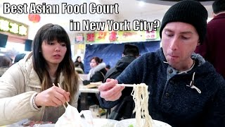 New World Mall- Food Adventures in Queens, Chinatown 🍜(THINGS TO DO IN NYC)