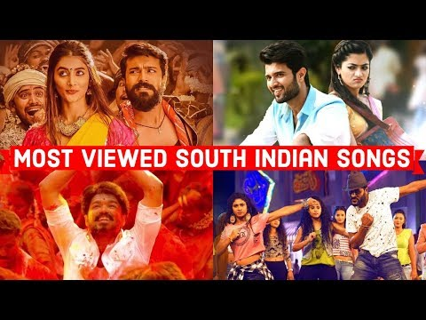 Top 20 Most Viewed South Indian Songs on Youtube All Time | Tamil, Telugu, Malayalam, Kannada Songs