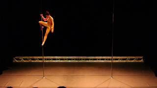 Nastasia Caupin - Amateur - Belgian Pole Dance Championship 2017
