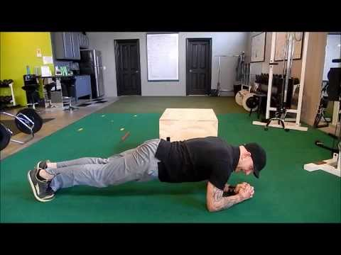 How to perform the Power Plank for Golf