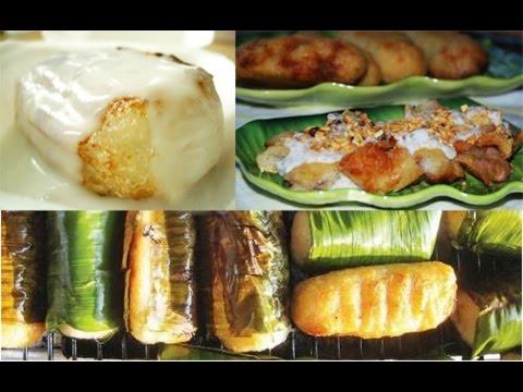 Bánh Chuối Nếp Nướng
