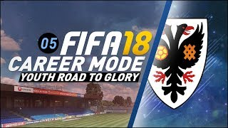 FIFA 18 Youth Career Mode RTG Ep5 - FUTURE STAR....STARS!!