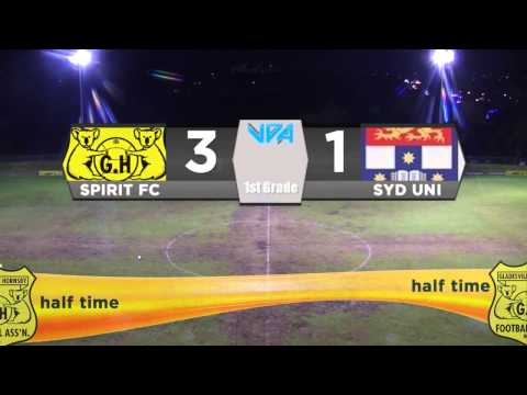 GHFA Spirit v Sydney University First Grade LIVE Stream