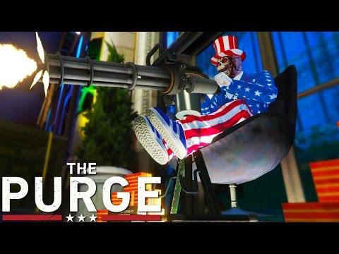 GTA 5 MODS THE PURGE HAS COME!