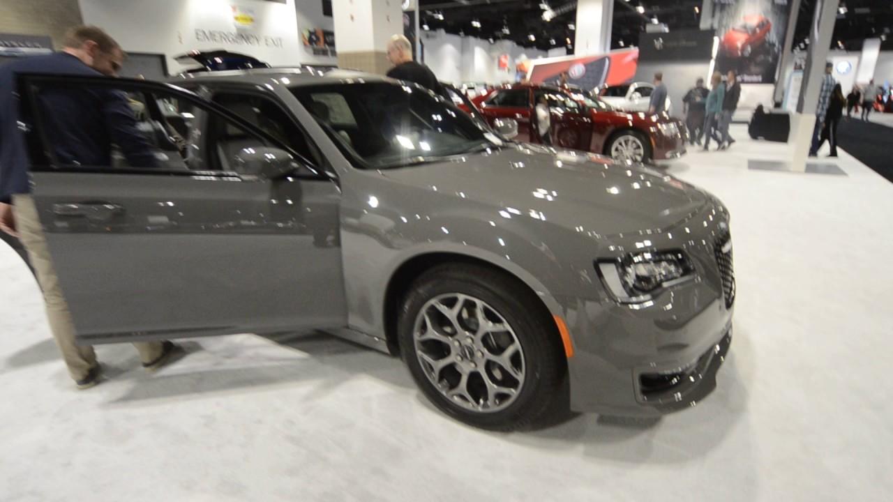 2017 Chrysler 300 In Gunmetal Gray At The Denver Auto Show Youtube