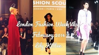 LONDON FASHION WEEK AUTUMN WINTER 2014 | #LFWAW14 VLOG | Lily Kitten Thumbnail