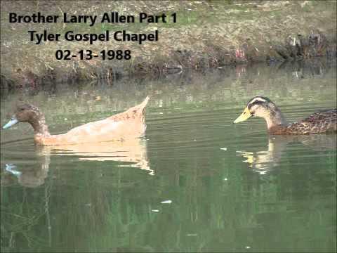 Brother Larry Allen Part 1