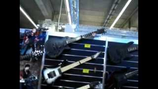 musikmesse frankfurt 2012 esp booth ltd signature series 7 strings heylmun mcgrath savage