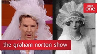 Benedict Cumberbatch as a 1920s bride? - The Graham Norton Show - BBC One