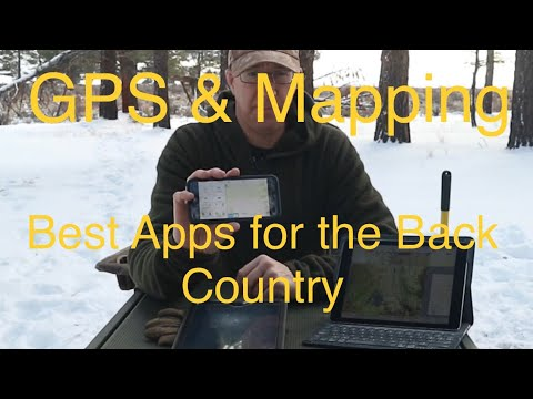 Best GPS - Navigation - Map Apps for the Back Country