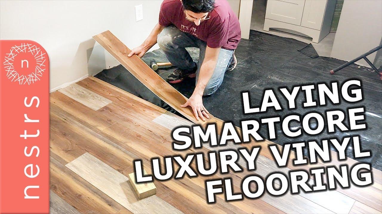 Smartcore Flooring Installation Nestrs Youtube