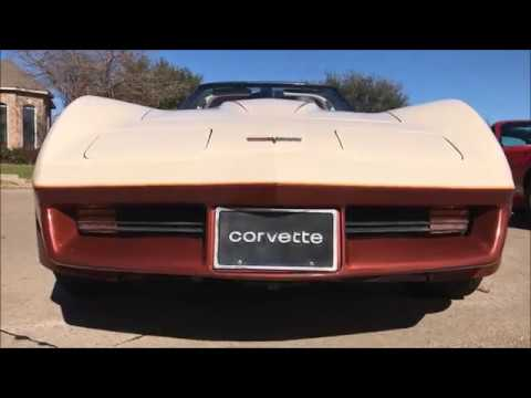 1981 Chevrolet Rare Corvette C3 Numbers Matching 350 4 Speed $15,500