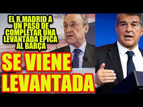 SE VIENE LEVANTADA | El R.Madrid a un paso de completar una LEVANTADA épica al Barça