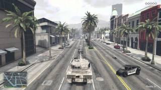 GTA 5 Next-Gen (PS4) - Rhino Tank (Leopard 2A3 Tank)