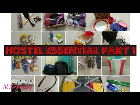 Download Hostel essential - Part 1 in tamil... what to pack for hostel.... Hostel Packing list for girls...