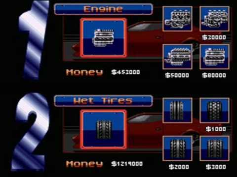 Top Gear 2 (Snes): Passwords