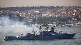 Rusya Akdeniz'den IŞİD'i Vuruyor