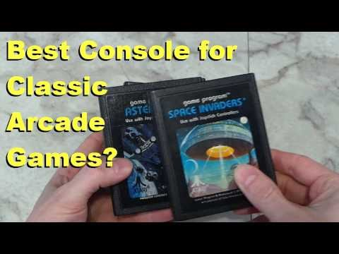 Best Vintage Game Console for Classic Arcade Games?