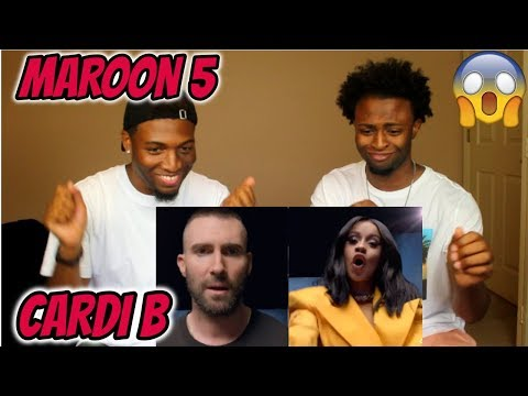 Maroon 5 - Girls Like You ft. Cardi B...