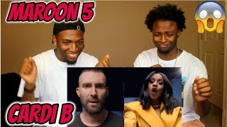 Download Lagu Maroon 5 - Girls Like You ft. Cardi B (CELEBRITY OVERLOAD!!!)(REACTION) Mp3