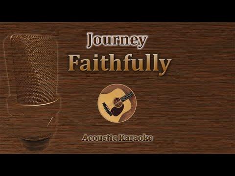 Faithfully - Journey (Acoustic Karaoke)
