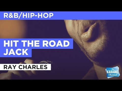 Hit The Road Jack in the style of Ray Charles | Karaoke with Lyrics