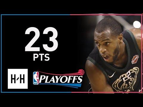 Khris Middleton Full Game 5 Highlights Bucks vs Celtics 2018 NBA Playoffs - 23 Pts!