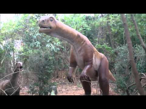 Jacksonville Zoo and Gardens Destination Dino Run-Through with Deinonychus and Little Deino