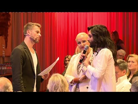 Conchita Wurst, Verena Scheitz - Life Ball Press Conference, 22.05.2017