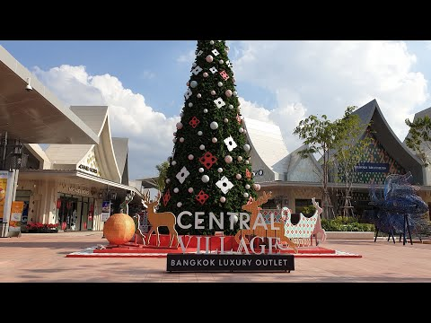 THE FIRST LUXURY OUTLET IN THAILAND (BANGKOK) CENTRAL VILLAGE OUTLET , NEW, BEST OPTION NEAR AIRPORT