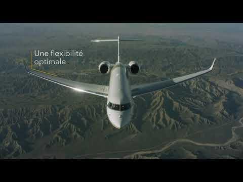 L'avion d'affaires Global 7500