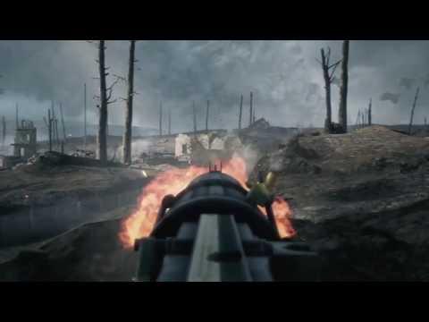 Battlefield 1 - Trench Warfare British Defense (No HUD)