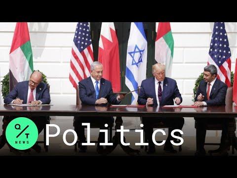 Bahrain, United Arab Emirates Sign Accords Establishing Ties With Israel