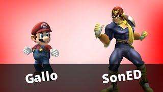 WTT2 - Gallo (Mario) vs SonED (Falcon) - Project M