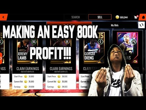 MAKING 800K IN 1 DAY FROM THE EASTER PROMO!!! ROAD TO THE TOP NBA LIVE MOBILE 18 EP. 37!!!