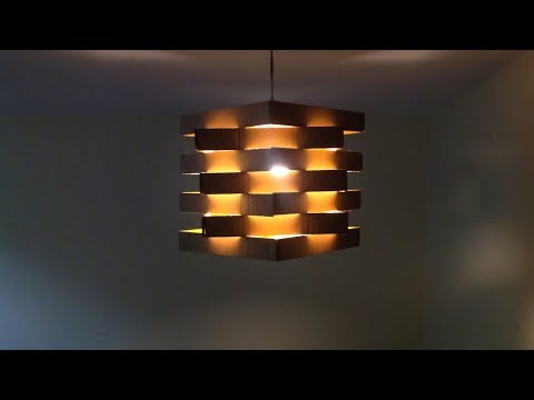 Diy Easy To Make Ceiling Lamp With