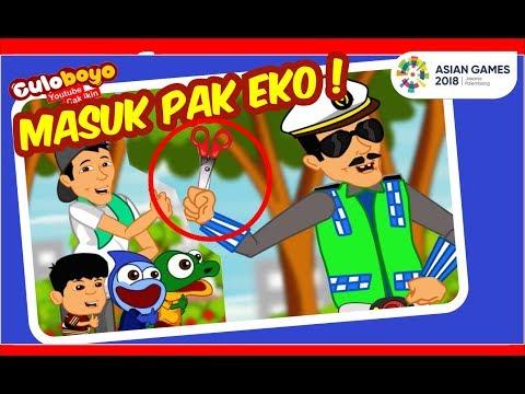 Culoboyo Masuk Pak Eko! | Kartun Lucu