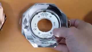 Встраиваемый светильник Ecoa Glass GX53 H4 Стекло, восьмиугольный