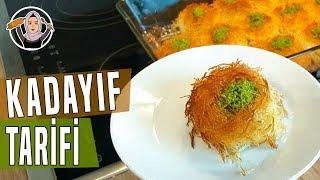 Porsiyonluk Kadayif Tarifi-Yapimi cok kolay lezzetli serbetlitatli-Hatice Mazi