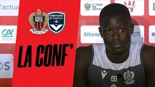 VIDEO: Patrick Vieira et Malang Sarr en conf' avant Nice - Bordeaux