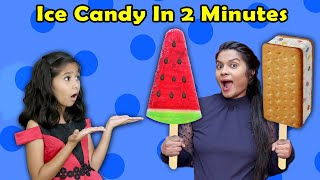 Ice Candy At Home ( Very Easy ) | Yummy Ice Cream At Home | Pari's Lifestyle